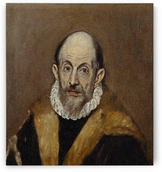 Portrait of a Man by Diego Velazquez