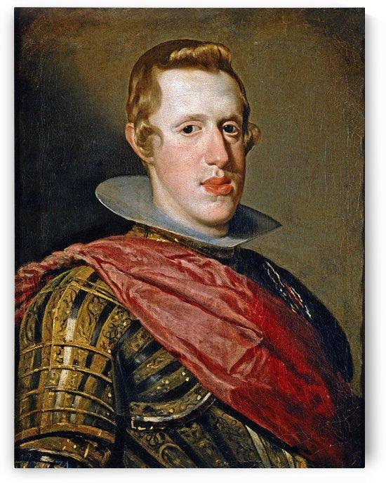 Felipe IV en armadura by Diego Velazquez