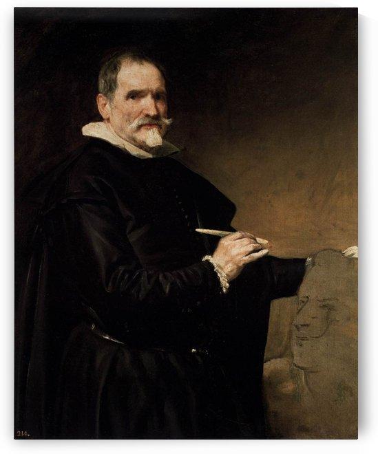 Portrait of the Sculptor Juan Martinez Montanes by Diego Velazquez