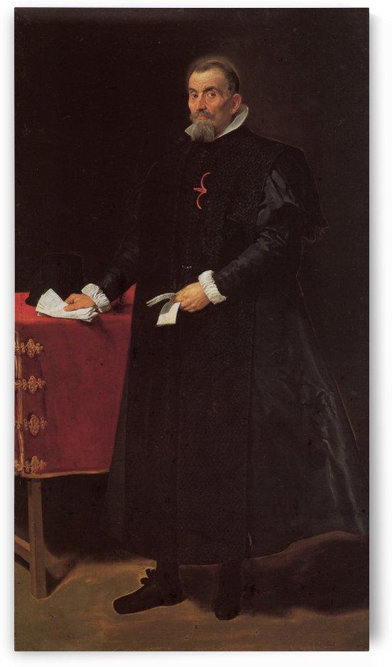 Portrait of Don Diego de Corral y Arellano by Diego Velazquez