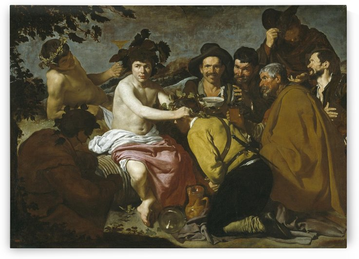 The Triumph of Bacchus by Diego Velazquez