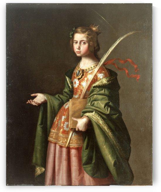 Santa Isabel de Turingia by Diego Velazquez