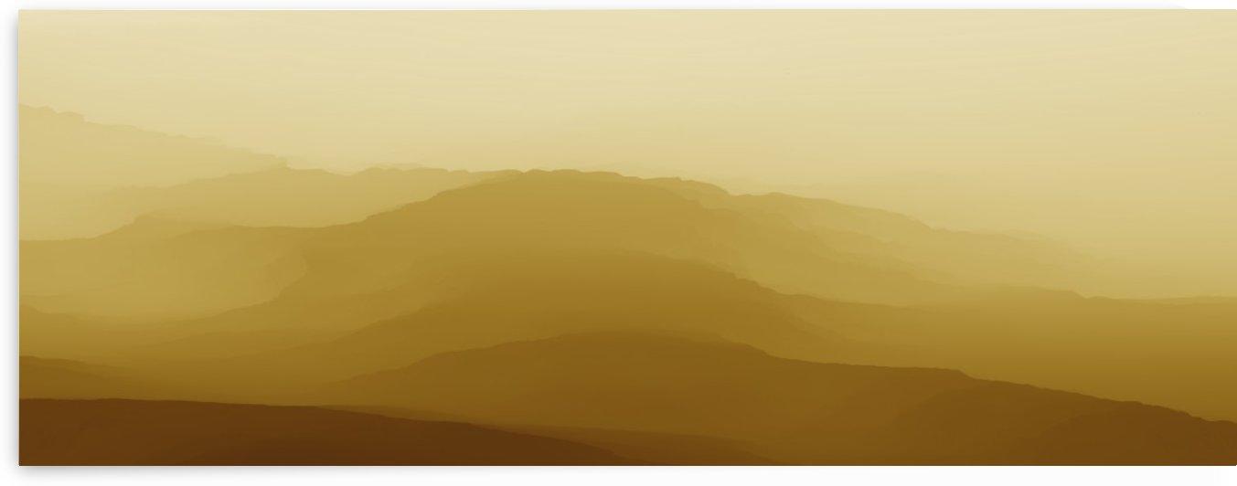 Mountainous Landscape 6 by Angel Estevez