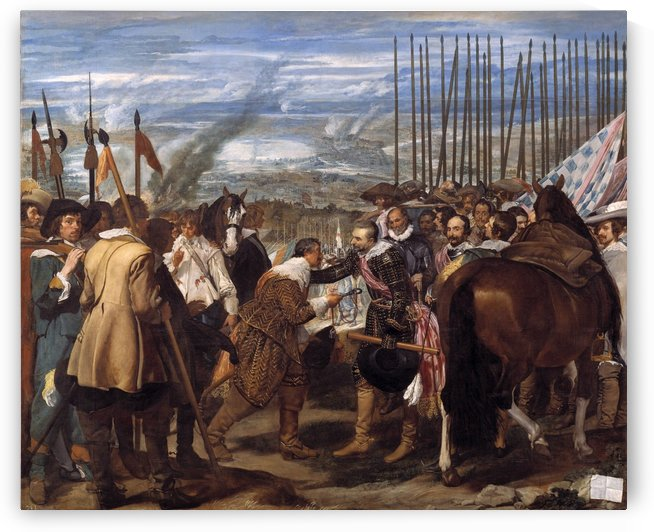 The surrender of Breda by Diego Velazquez