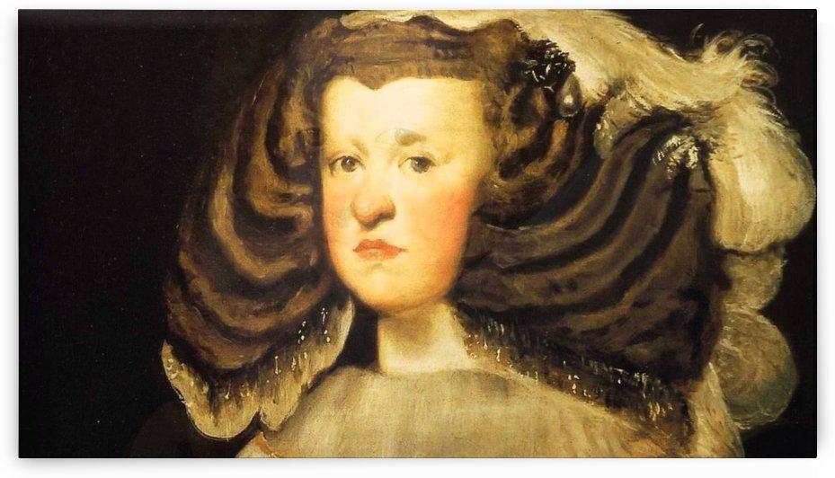 Beautiful Lady by Diego Velazquez