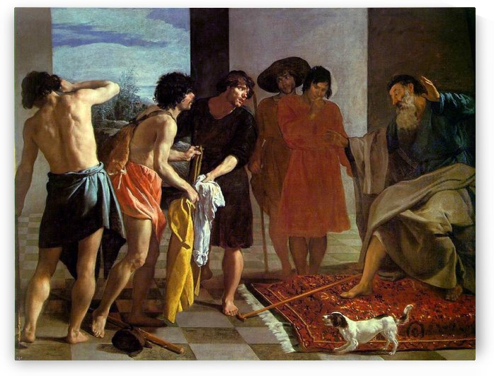 Bloody Coat Brought to Jacob by Diego Velazquez
