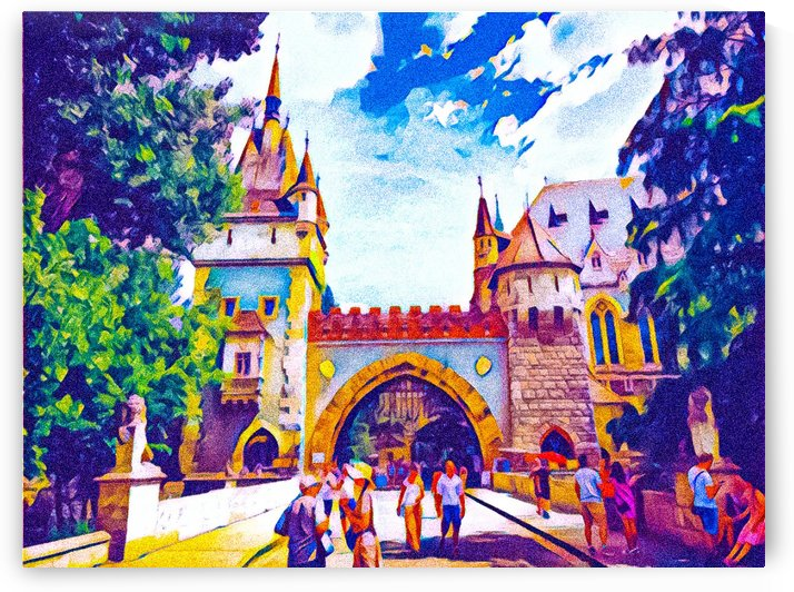 Vajdahunyad Castle by Ferenc Lengyel