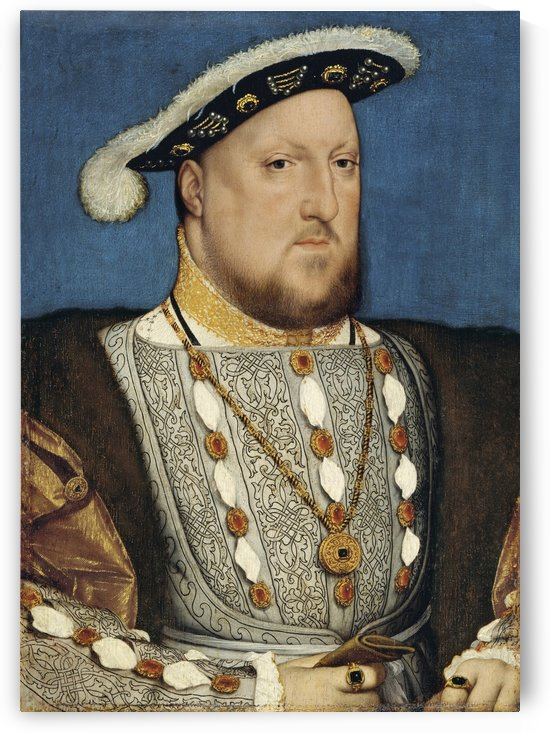 Portrait of Henry VIII of England by Hans Holbein