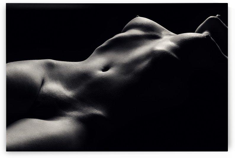 Nude woman bodyscape 47 by Johan Swanepoel