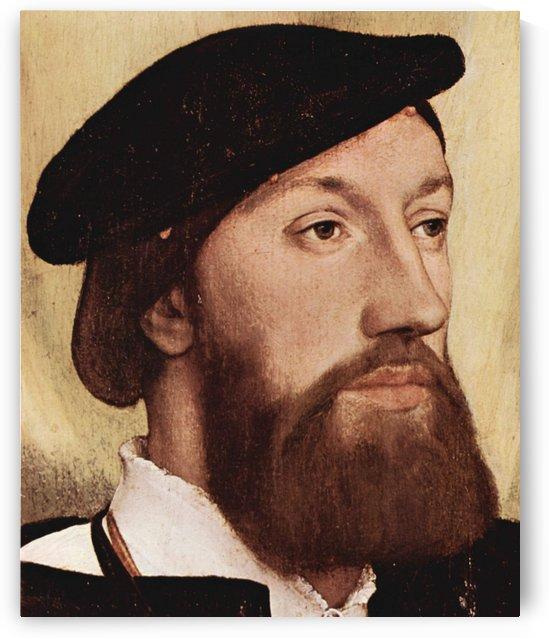 Hans Holbein older self-portrait by Hans Holbein