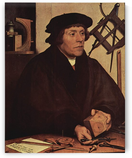 Nicholas Kratzer by Hans Holbein