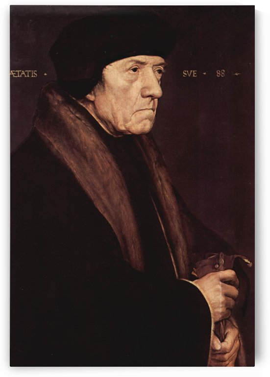 Portrait of Dr. John Chambers by Hans Holbein