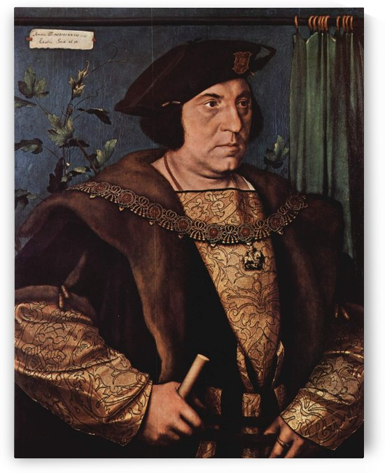 Portrait of Sir Henry Guildford by Hans Holbein