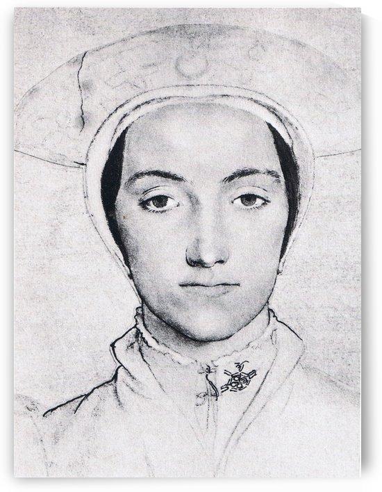 Portrait of Anne Boleyn by Hans Holbein