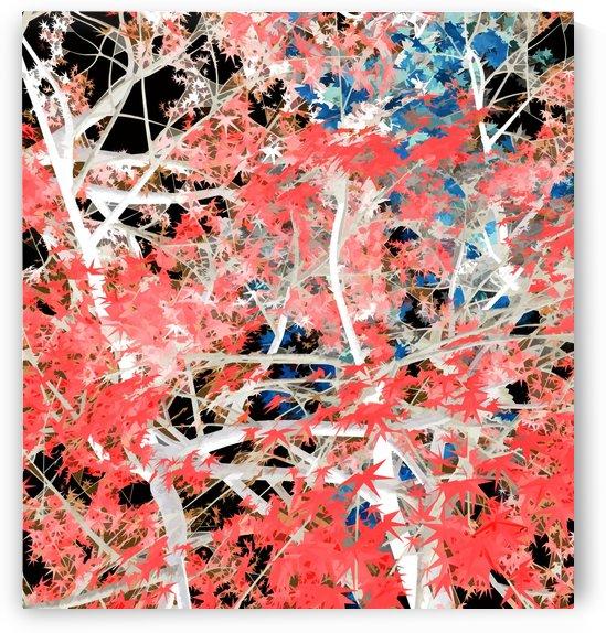 Autumnal Trees 3 by Angel Estevez