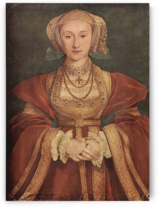 The portrait of Anne of Cleves by Hans Holbein