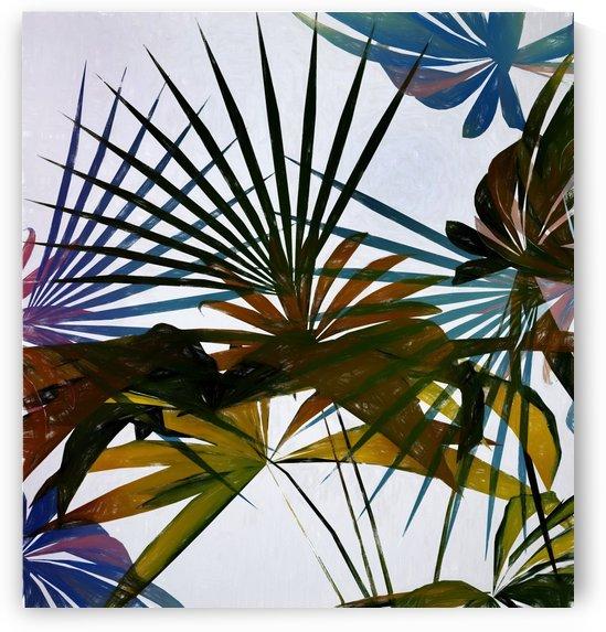 Tropical Foliage 2 by Angel Estevez