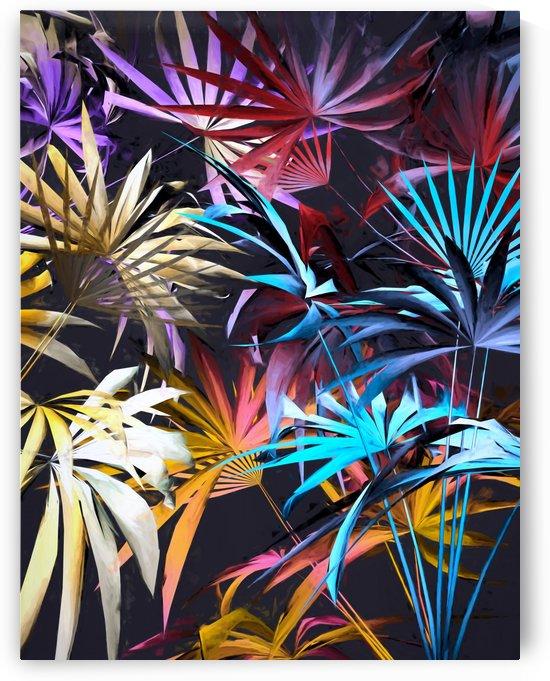 Tropical Foliage 3 by Angel Estevez