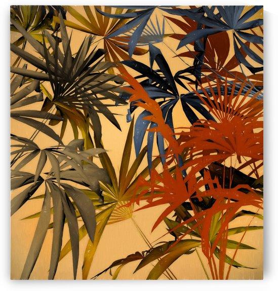 Tropical Foliage 4 by Angel Estevez