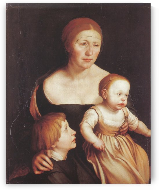 Holbein Family by Hans Holbein