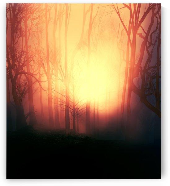Blazing Sundow by Angel Estevez