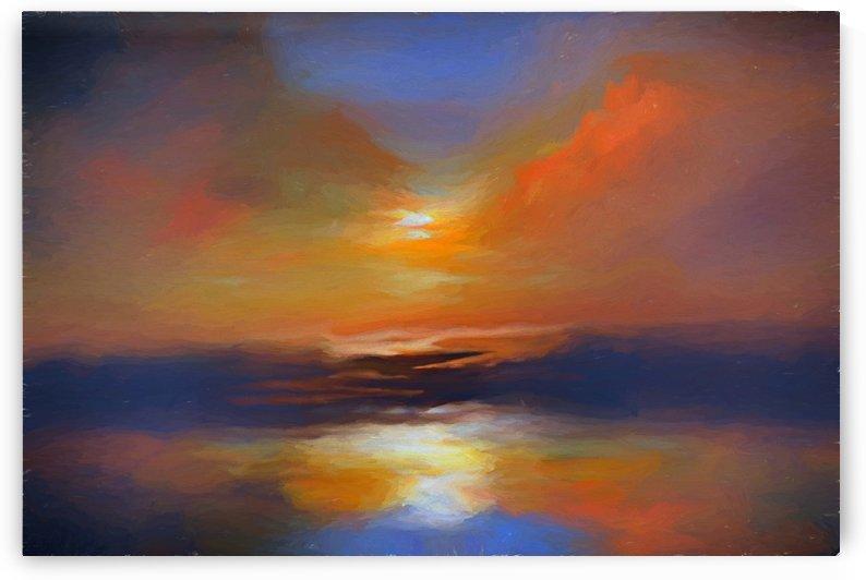 Sunset Colors 18 by Angel Estevez