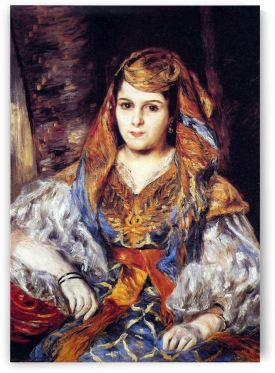 Algerian Woman by Renoir by Renoir