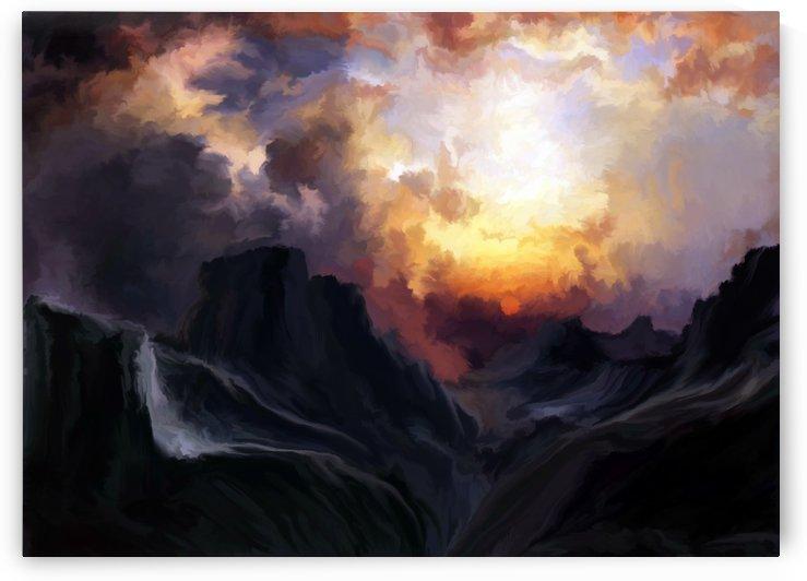 Dark Mountains by Angel Estevez