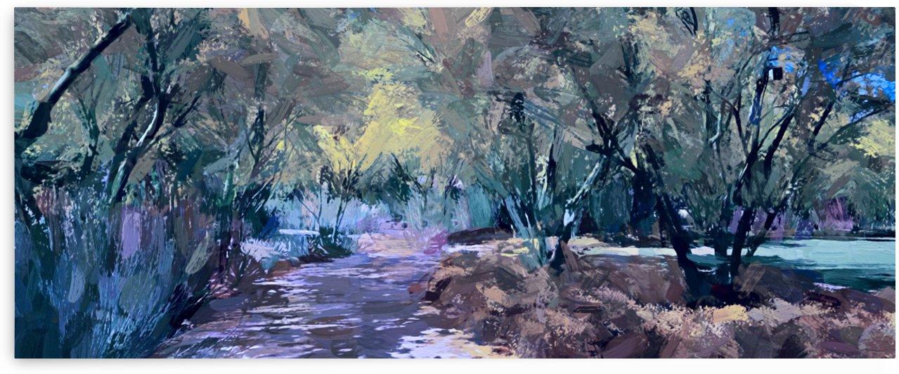 Way between Grove by Angel Estevez