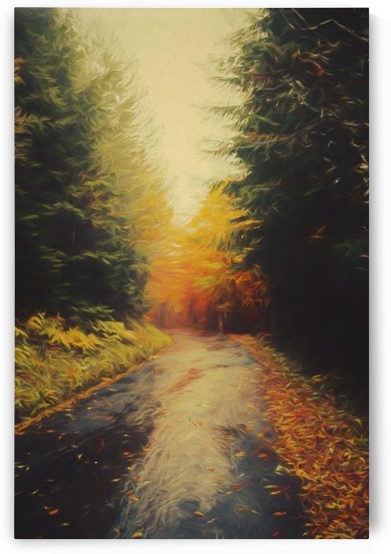 Autumnal Landscape 4 by Angel Estevez