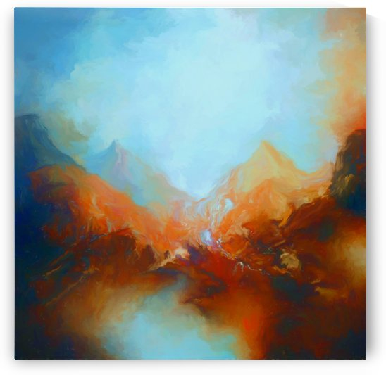 Frosty Mountains by Angel Estevez