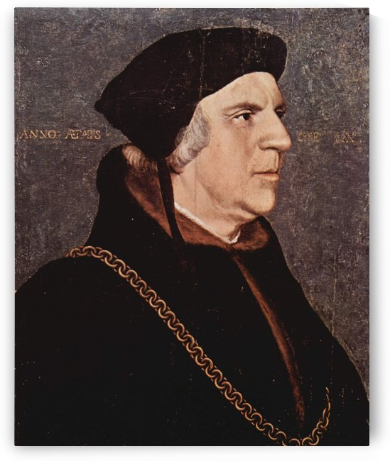 Portrait of Sir William Butts by Hans Holbein