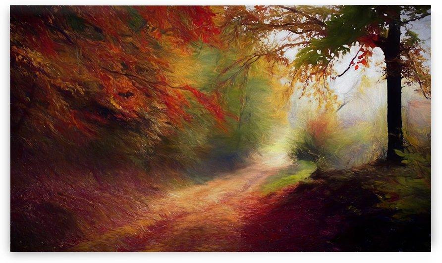 Autumnal Landscape 5 by Angel Estevez
