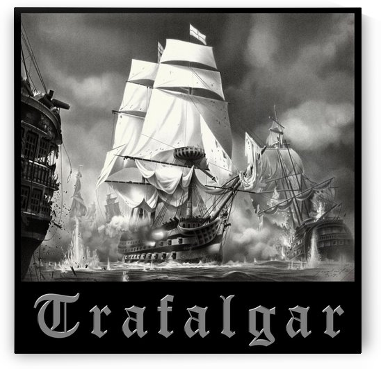 BATTLE OF TRAFALGAR by Miro Gradinscak