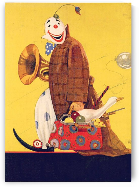 Vintage Clown Art   by Smithson