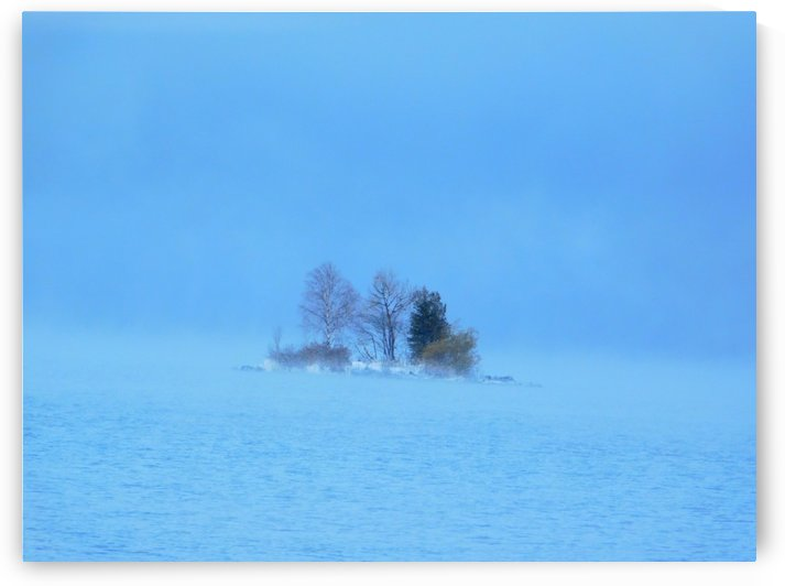 Frosty Morning on Georgian Bay by Debbie Caughey