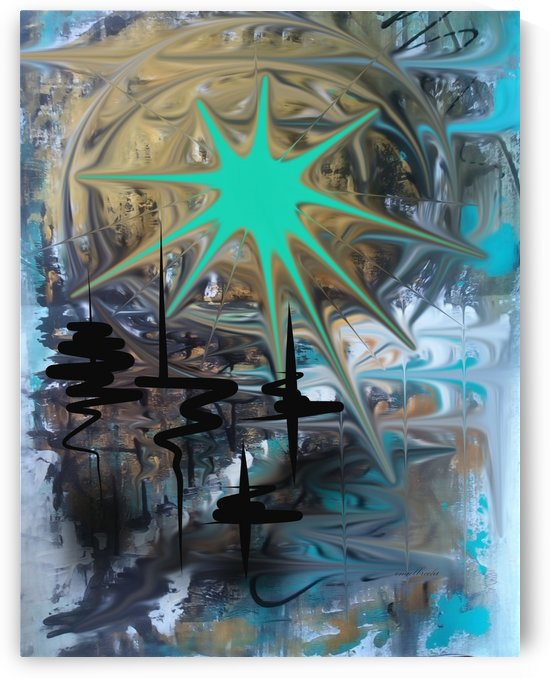 galactic fullmoon by irma engelbrecht