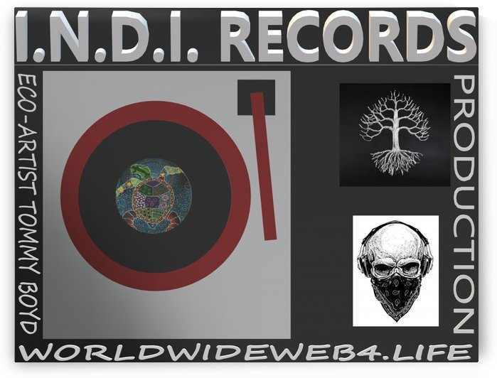 INDI RECORDS by KING THOMAS MIGUEL BOYD