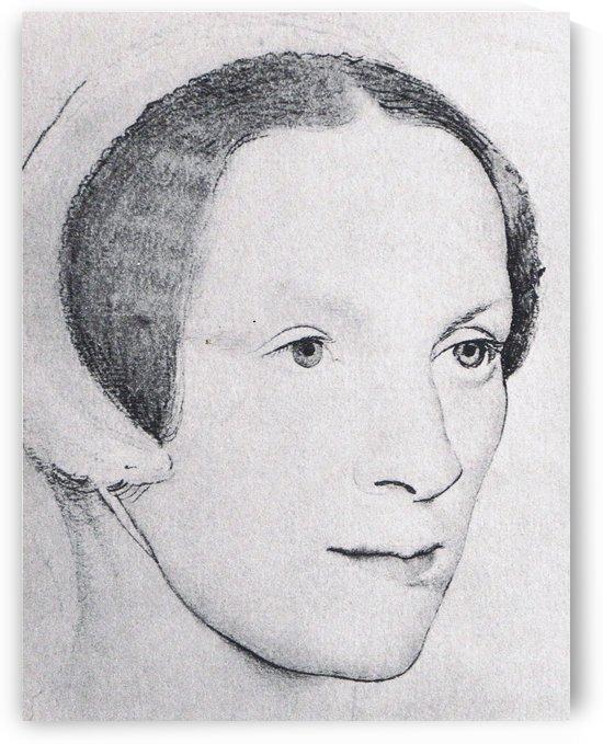 Portrait of a Scandinavian woman by Hans Holbein