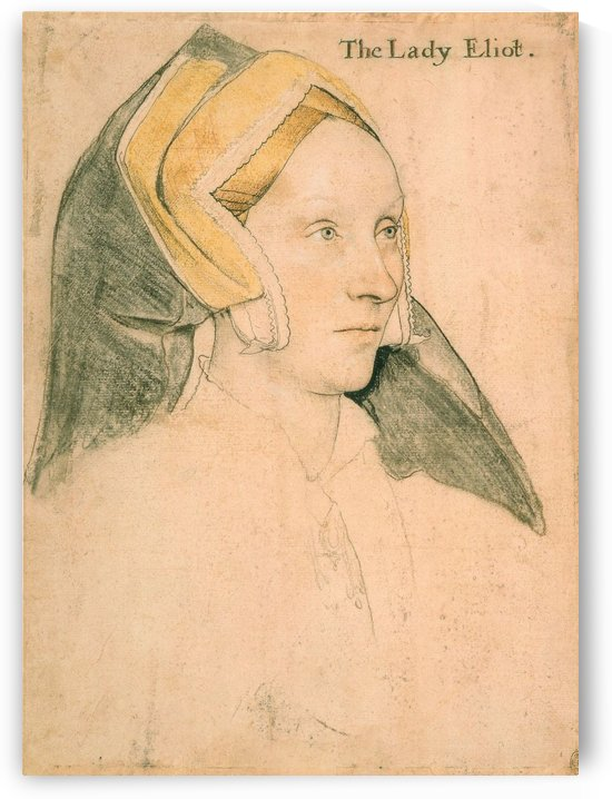 Lady Elyot by Hans Holbein