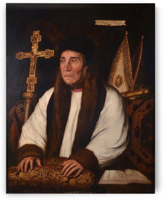 Portrait of William Warham by Hans Holbein