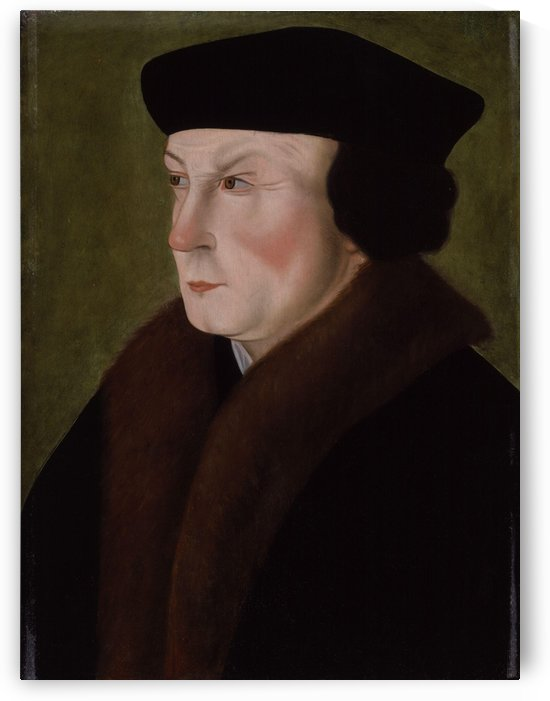 Portrait of Thomas Cromwell Earl of Essex by Hans Holbein