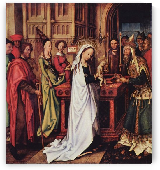 Presentation of Christ at the Temple by Hans Holbein