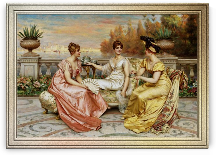 Tea on the Terrace by Frederic Soulacroix by xzendor7