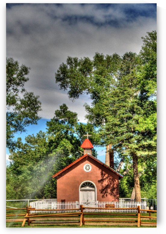New Mexico Church by Bob Vogt