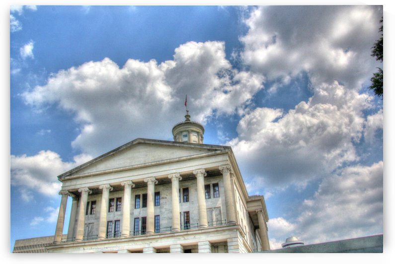 Tennessee Capitol by Bob Vogt