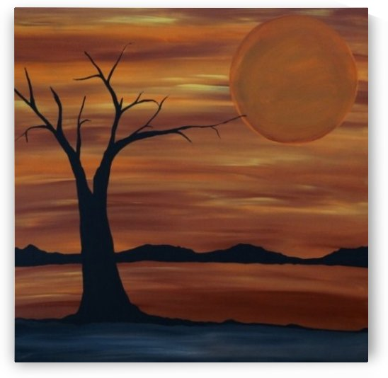 Ares tree acrylic painting by Ares tree acrylic painting