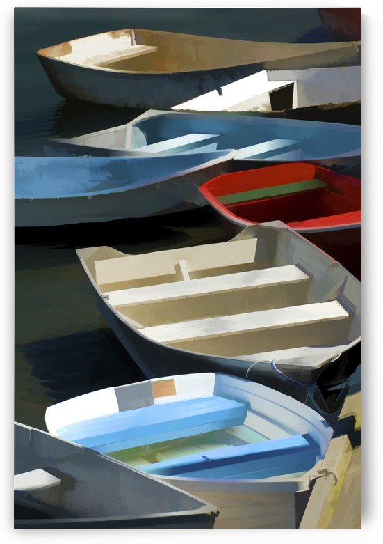 Boats  by Lee Fortier