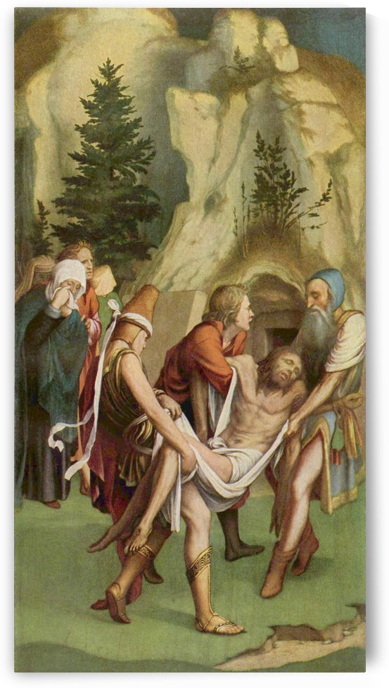 Entombment of Christ by Hans Holbein