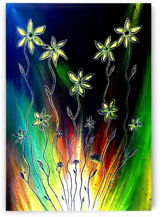 Flower Burst by Linda Callaghan